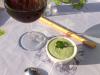 Crème de fèves au cerfeuil