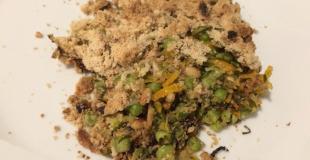 Crumble aux légumes d'automne