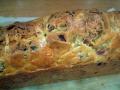 Cake au saumon et aux asperges