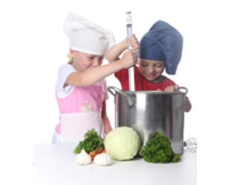 légumes et enfants